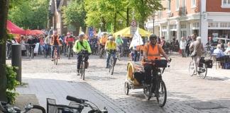 Fahrrad-Demo in Ahrensburg