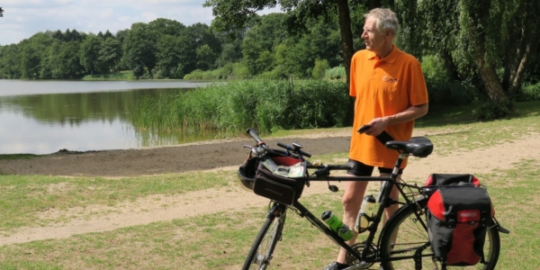 Ahrensburg: Fahrradtour zum Baden am Großensee